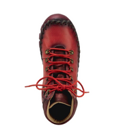 Kicks Barefoot Bootie | Red - Wright Shoe Co. Ltd