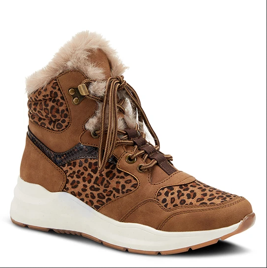 Wyspria Boot | Tan Leopard Multi - Wright Shoe Co. Ltd