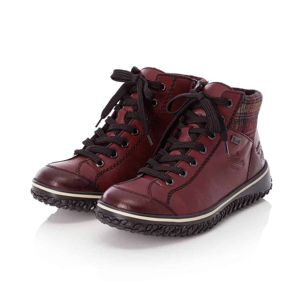 Rieker Cordula Z4243-36 | Wine - Wright Shoe Co. Ltd