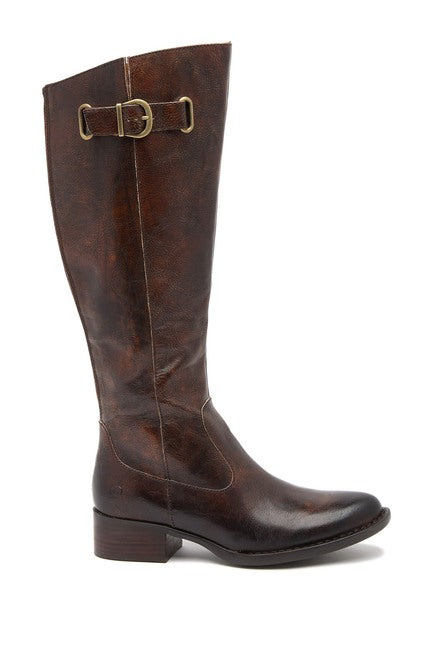 Cort | Tall Leather Boot - Brown - Wright Shoe Co. Ltd