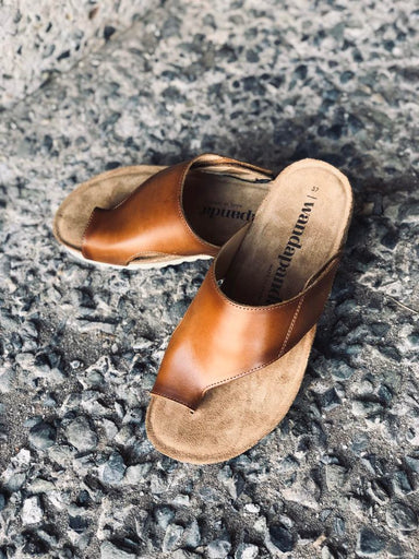 Tenma | Toe-Wrap Sandal - Hazelnut - Wright Shoe Co. Ltd