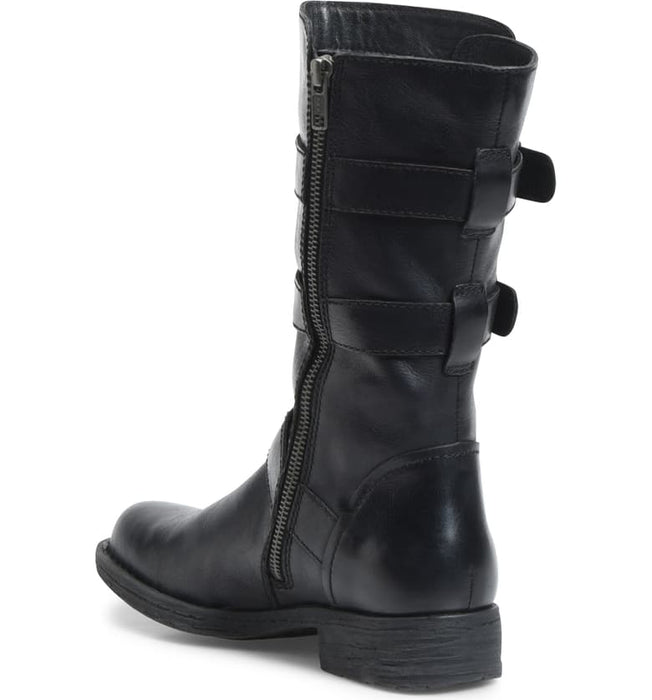 Ivy | 3/4 Moto Boot - Black - Wright Shoe Co. Ltd