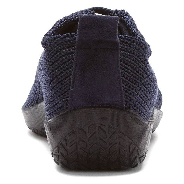 LS | Portuguese Walking Shoe - Navy - Wright Shoe Co. Ltd