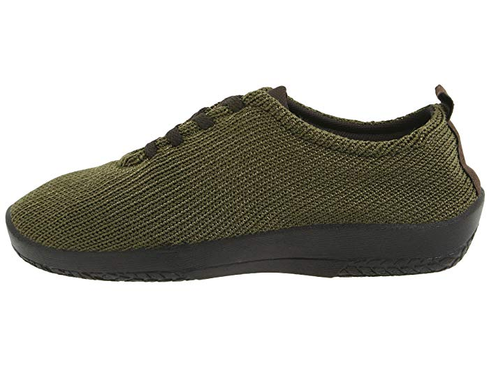 LS | Portuguese Walking Shoe - Olive - Wright Shoe Co. Ltd