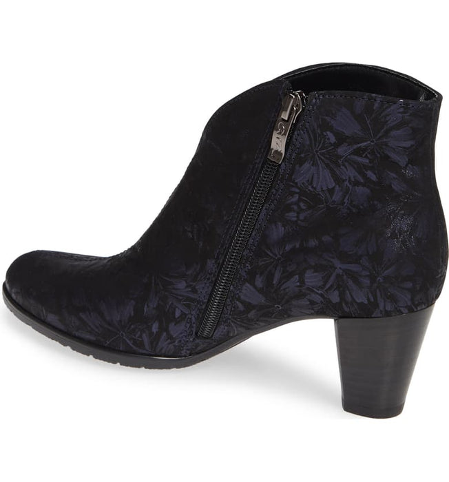 Tricia | Pump Bootie - Blue Dragonfly - Wright Shoe Co. Ltd