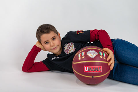 REYER VENEZIA T-SHIRT MANICA LUNGA BICOLOR JUNIOR