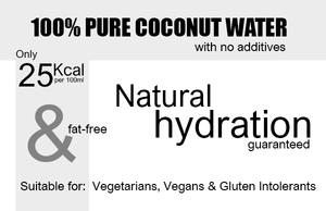 100% Natural Coconut Water 500ml Product Highlights