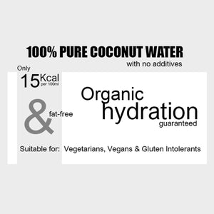 Organic Coconut Water 1 Litre x 12
