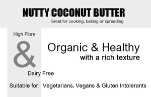 Organic Coconut Butter 335g Product Highlights