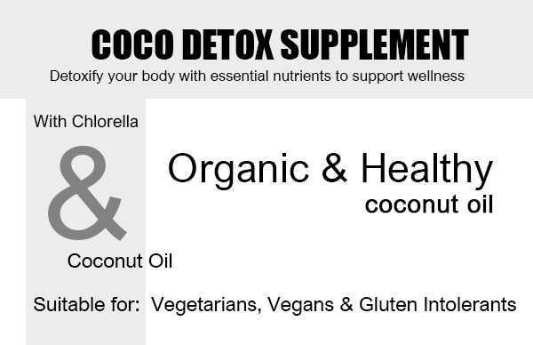 Coconut Detox - 90 Capsules Product Highlights