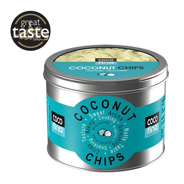 Organic Coconut Chips 250g