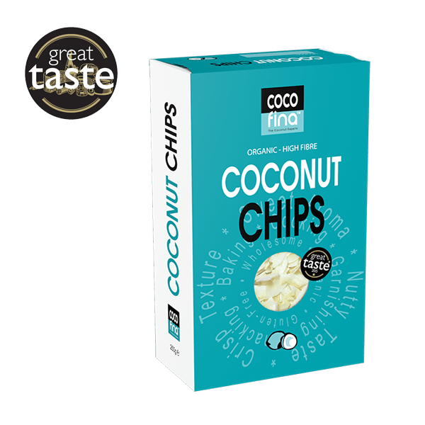 Organic Coconut Chips - 250g Box