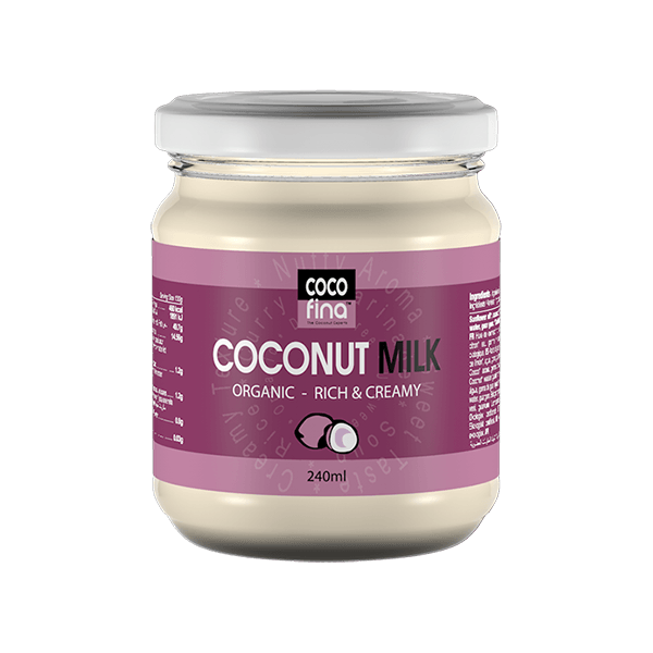 Organic Coconut Milk Rich & Creamy - 240ml