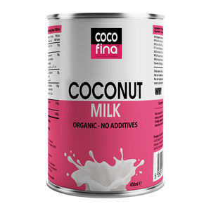 Organic Coconut Milk - Original - 400ml x 6