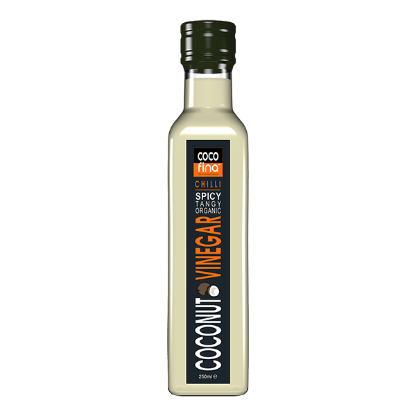 Organic Coconut Vinegar 250ml - Chilli