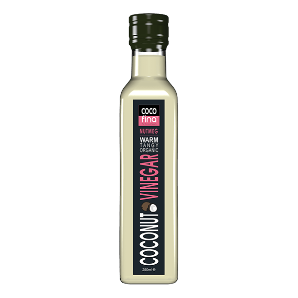 Organic Coconut Vinegar 250ml - Nutmeg