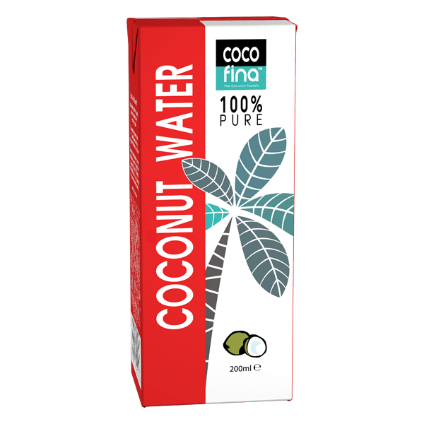 100 % Pure Natural Coconut Water 200ml x 36 Units