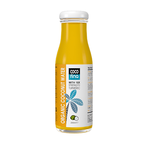 Organic Coconut Water & High Strength Turmeric 200ml