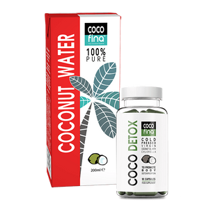 Coconut water and coconut detox capsules - Detox pack