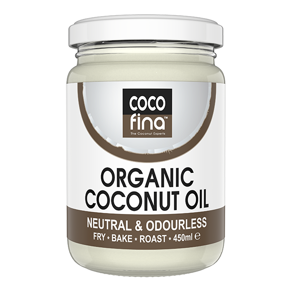 Organic Neutral Coconut Oil 450ml x 2