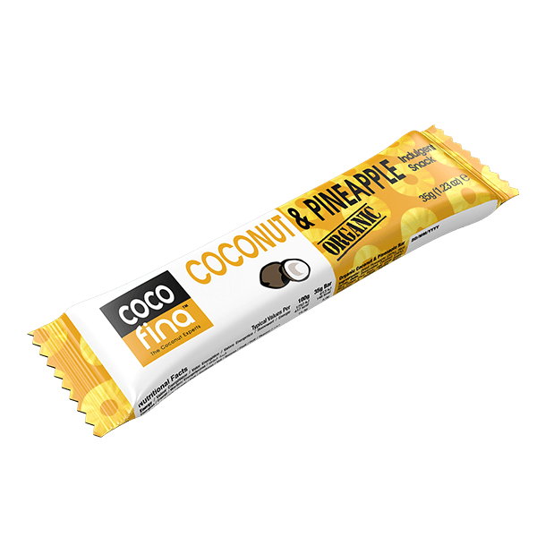 Organic Coconut & Pineapple Snack Bar