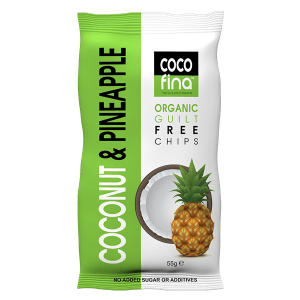 Organic Coconut & Pineapple Snack