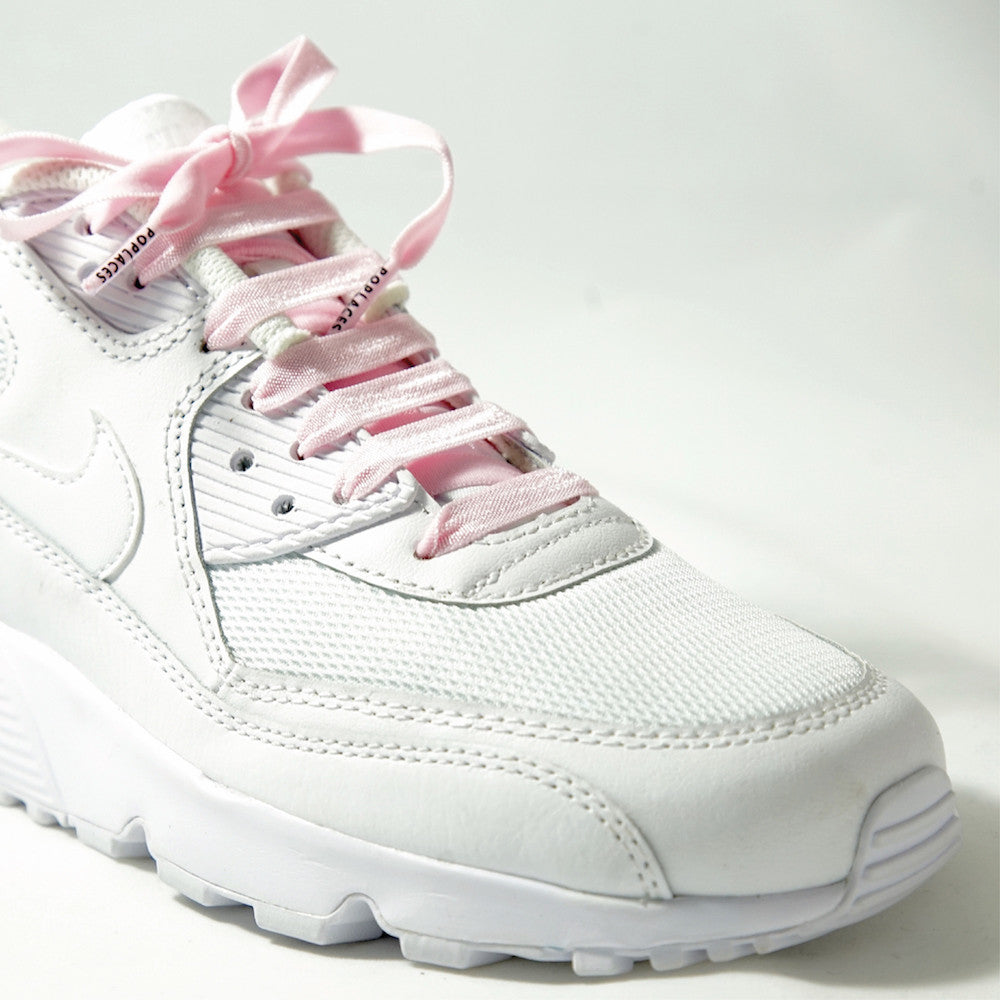 Baby Pink Poplaces | Shoe Laces From