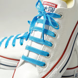 Bright Blue | Poplaces Twin Pack | Shoe Laces | In-Shoe | Converse