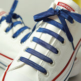Navy Blue | Poplaces Twin Pack | Shoe Laces | In-Shoe | Converse
