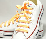 Orange | Poplaces Twin Pack | Shoe Laces | In-Shoe | Converse