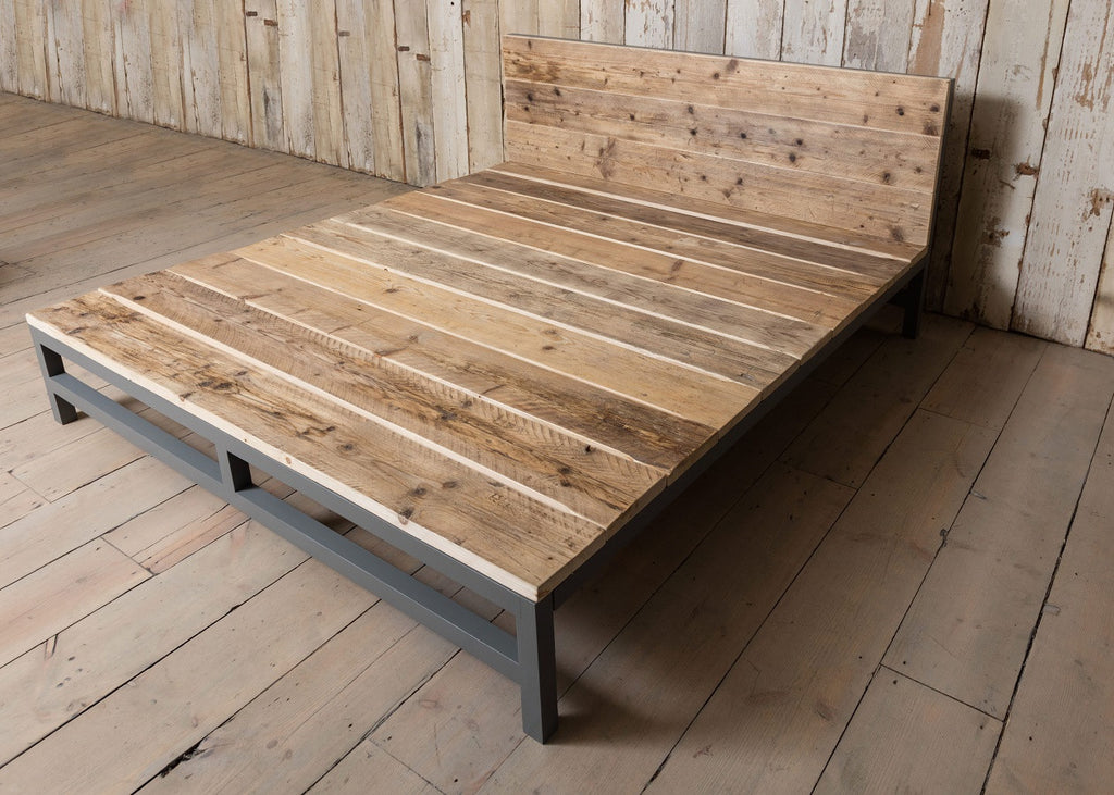 London Reclaimed Timber Bed