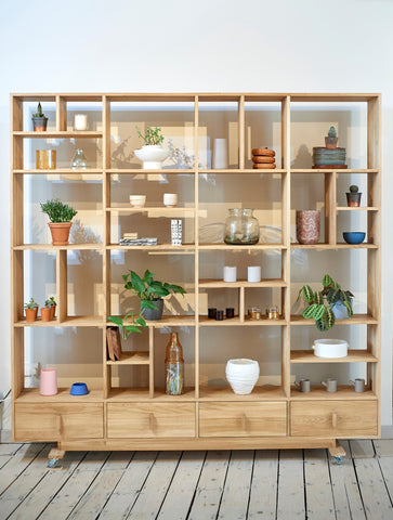 Luca Shelving Unit - Ex Display