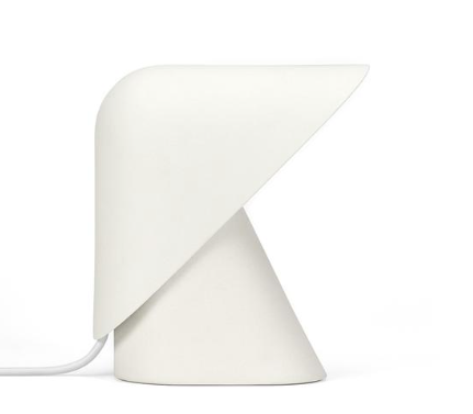 K Lamp - Earthenware White