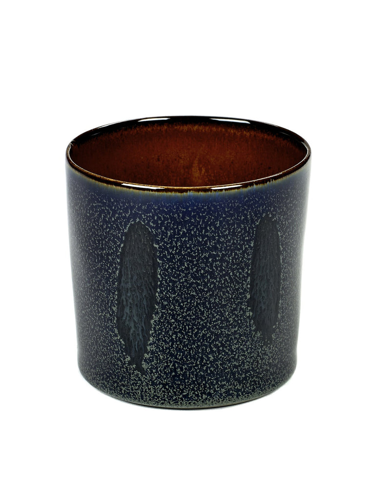 Terres de Reves Goblet - Dark Blue / Rust