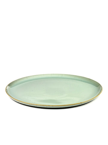 Terres de Reves Large Plate - Light Blue