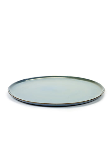 Terres de Reves Large Plate - Smokey Blue