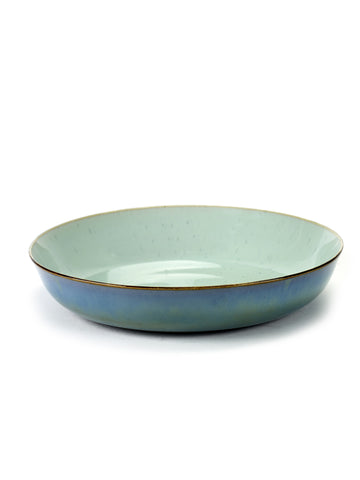 Terres de Reves Pasta Bowl - Blue / Smokey Blue
