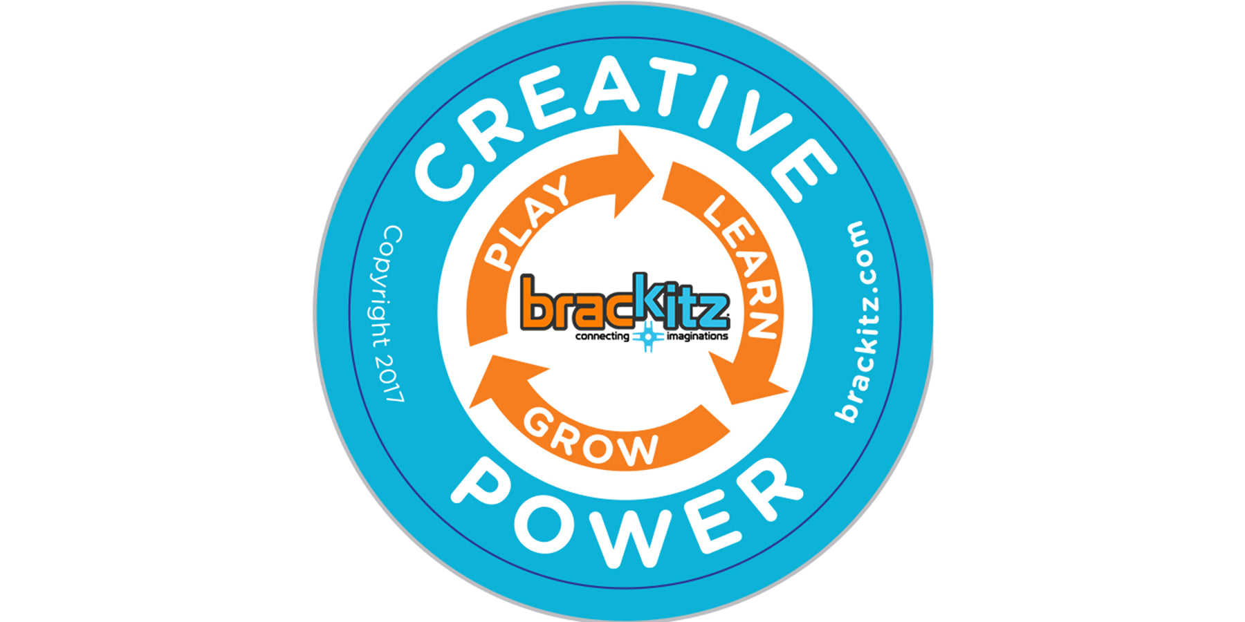 brackitz creative power sticker