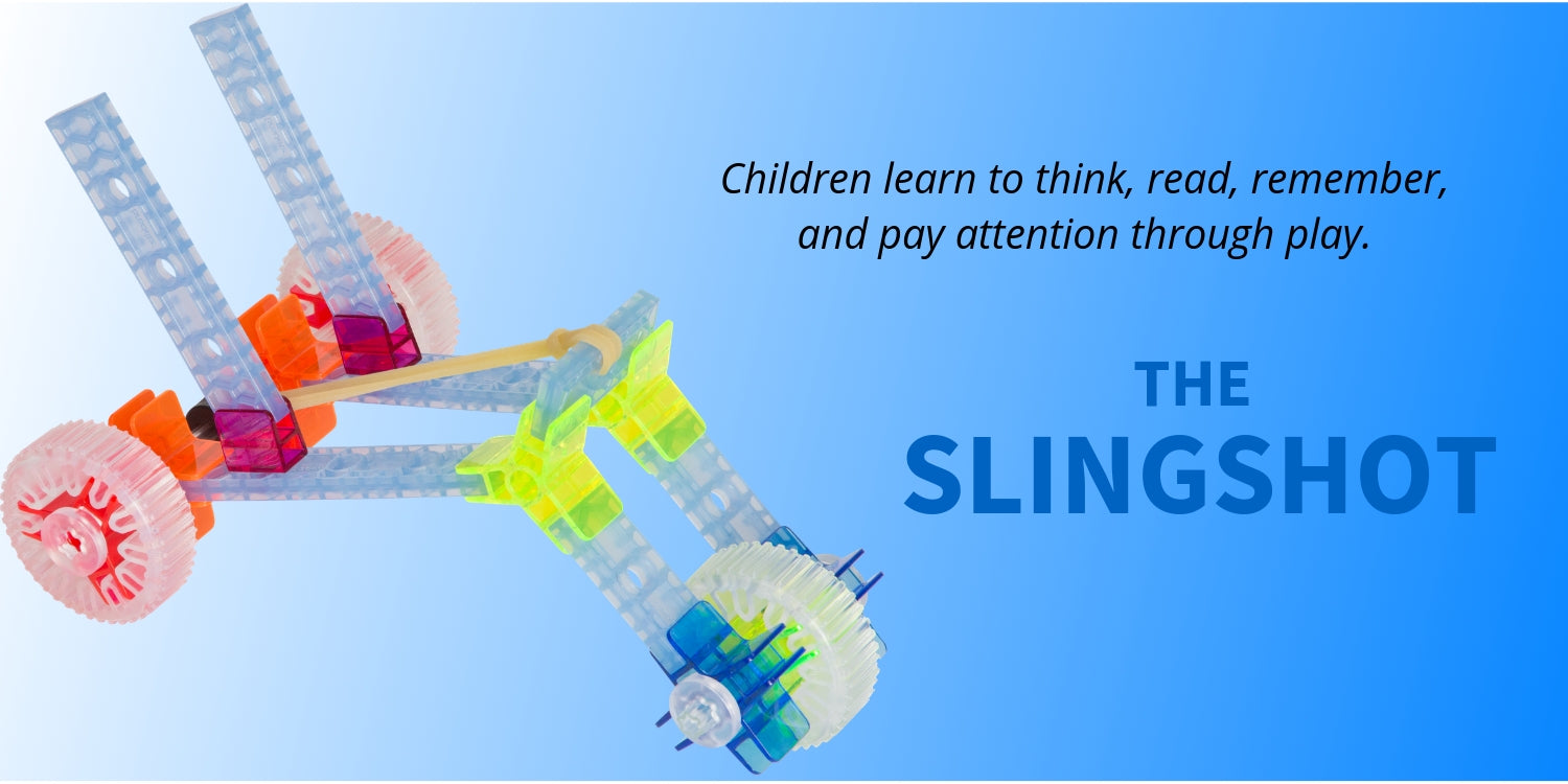 Brackitz slingshot learning toy