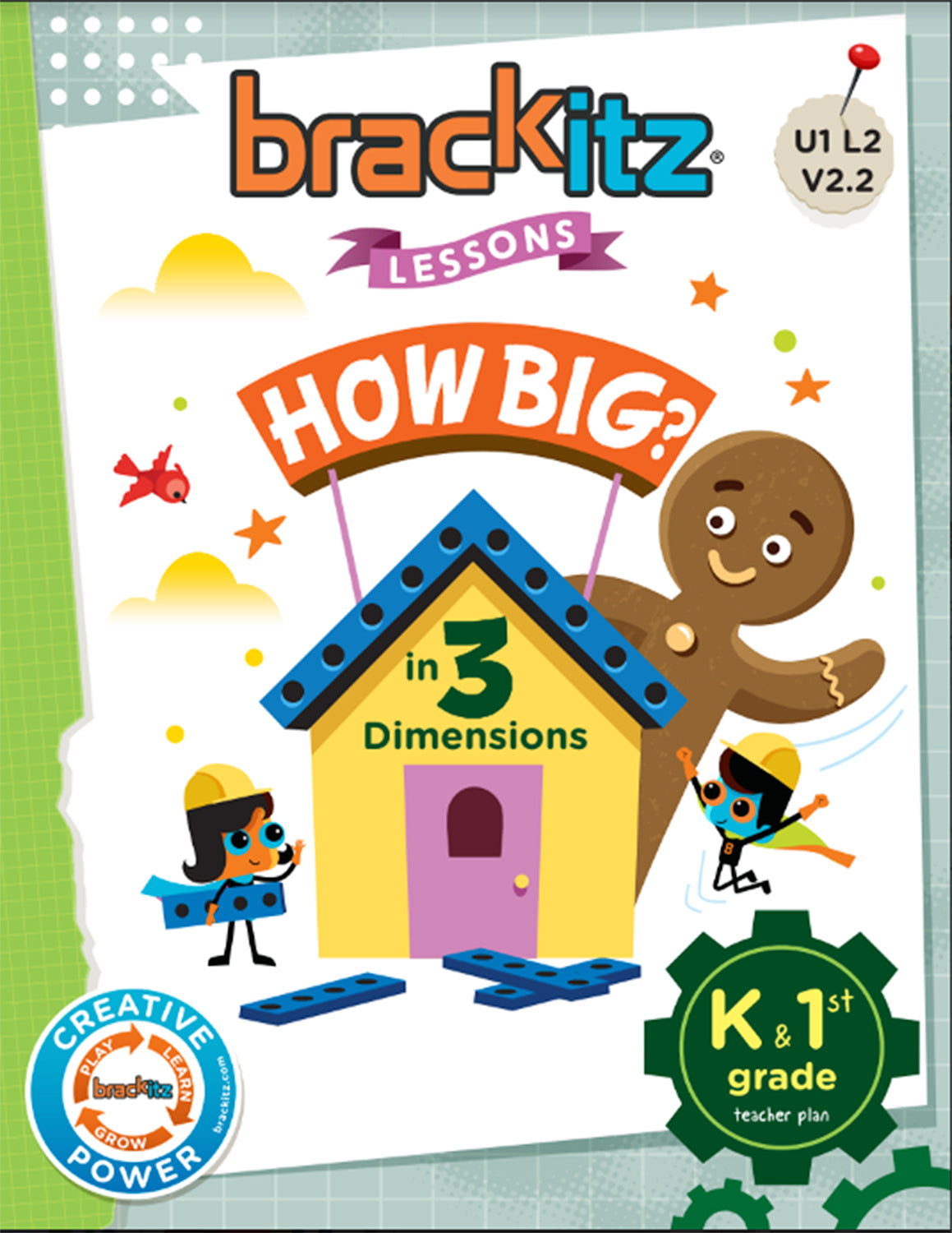 Brackitz Education Building Toy - Grades K/1 Unit 1