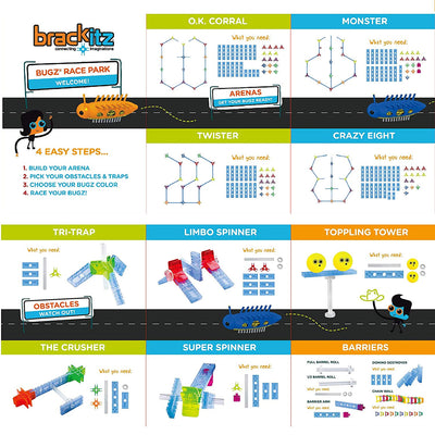 INSTRUCTIONS FOR BRACKITZ BUGZ LEARNING SET