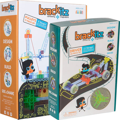 120 pc Brackitz Young Engineer STEM Building Set - Brackitz