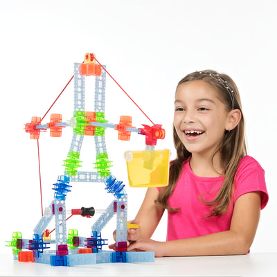 124 pc Brackitz Pulley Adventure Set - Brackitz