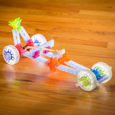 brackitz educational toy dragster build