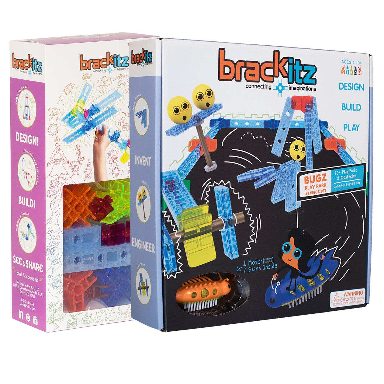 Brackitz Inventor and bugz box set