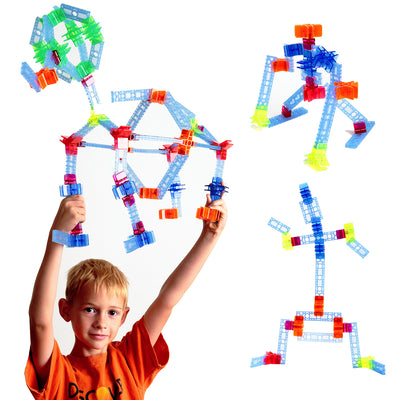 88 pc Brackitz Essential STEM Building Set - Brackitz