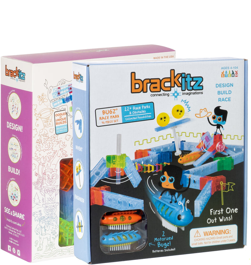 196 pc Brackitz Super Bugz Set - Brackitz