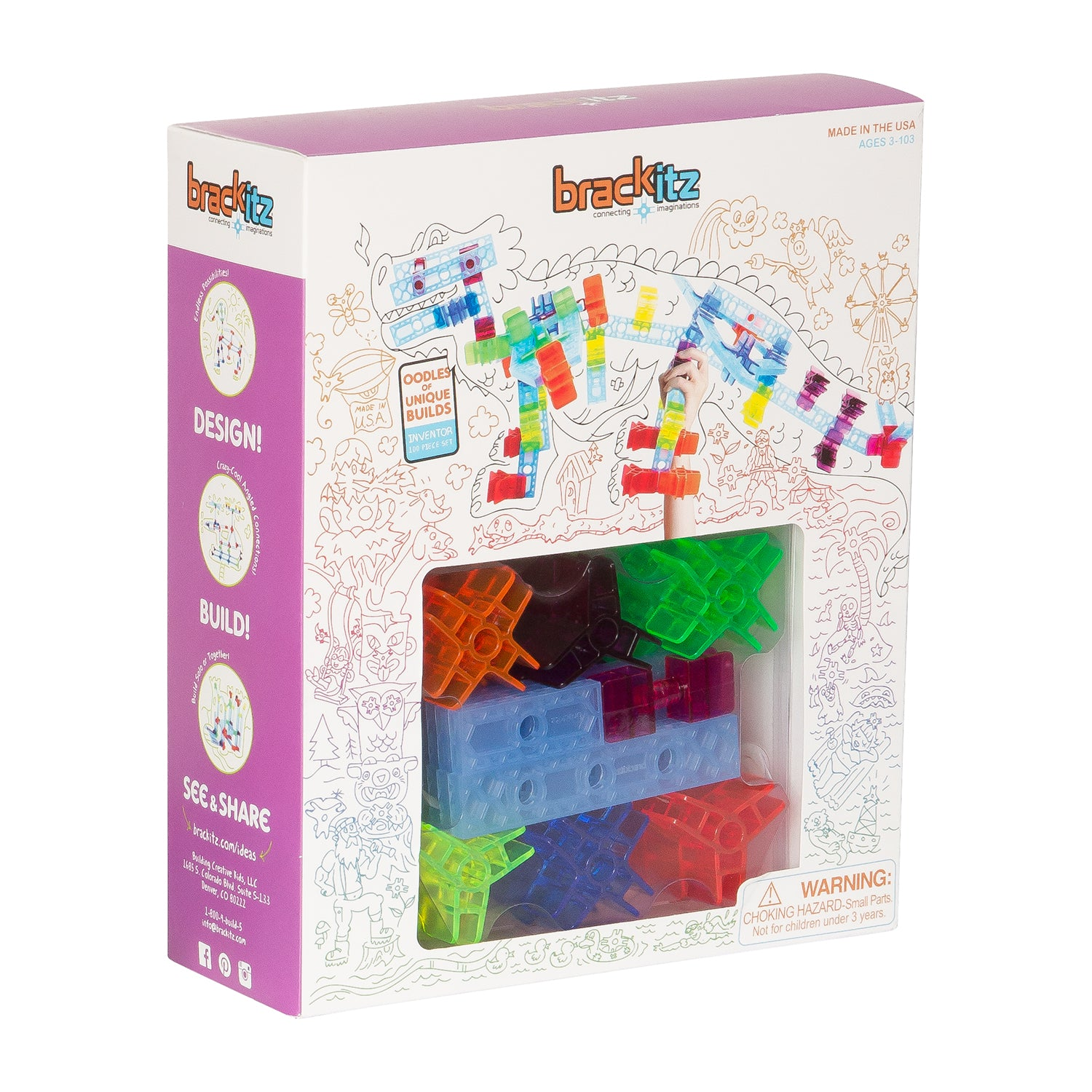 Inventor 100-Piece Set