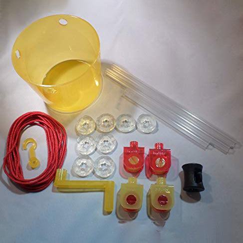 21 pc Pulley Expansion set for Kids piece map