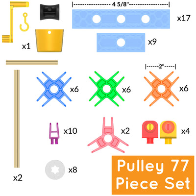 77 pc Brackitz Pulley Set - Brackitz